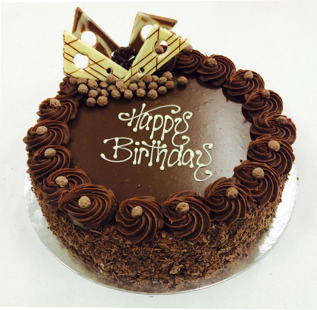 Chocolate Birthday Cakes For Men